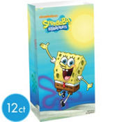 Paper SpongeBob Treat Bags 12ct
