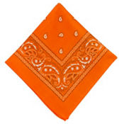 Orange Bandana 20in