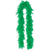Green Feather Boa 72in