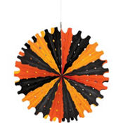 Halloween Paper Fan Decoration 22in