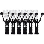 Skeleton Noisemakers 6ct