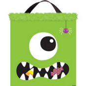 Fabric Boo Crew Treat Bag 15in