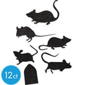 Mice Silhouettes 12pc
