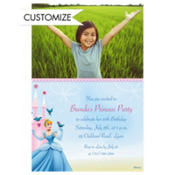 Cinderella Fantasy Custom Photo Invitation