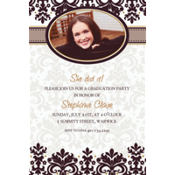 Black & White Custom Photo Invitation
