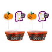 Ghost Cupcake Decorating Kit 24pc
