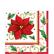 Winter Botanical Lunch Napkins 125ct