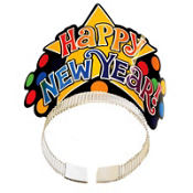 Polka Dot New Years Party Tiara