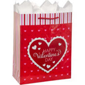 Valentines Day Gift Bag 13in