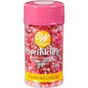 Chocolate Hearts Mix Sprinkles 3.75oz