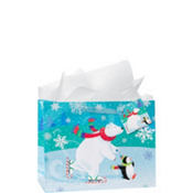 Medium Snow Buddies Gift Bags 7in 12ct
