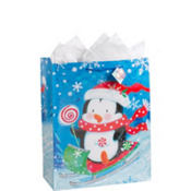 Jumbo Penguin Candy Gift Bag 17in