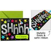 Super Secret Surprise Party Invitations 8ct