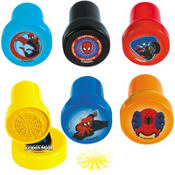 Spiderman Stampers 6ct