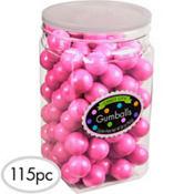 Bright Pink Gumballs 117pc