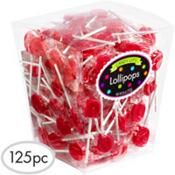 Red Lollipops 125pc