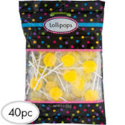 Yellow Lollipops 8oz