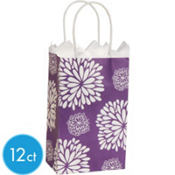 Purple Mum Mini Gift Bag 12ct