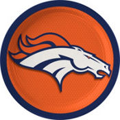 Denver Broncos Lunch Plates 18ct