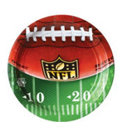 NFL Drive Lunch Plates 18ct