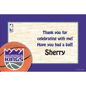 Sacramento Kings Custom Thank You Note