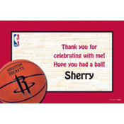Houston Rockets Custom Thank You Note
