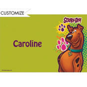 Scooby Doo Custom Thank You Note