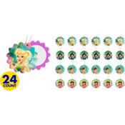 Disney Fairies Slide Mirrors 24ct