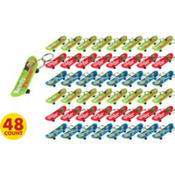 Toy Story Skateboard Keychains 48ct