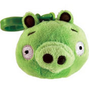 Green Pig Angry Birds Backpack Clip
