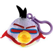 Purple Angry Birds Space Backpack Clip