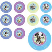 Party Pups Mini Discs 48ct
