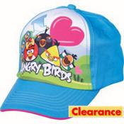Child Blue Angry Birds Baseball Hat