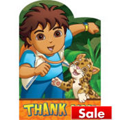 Go, Diego, Go! Thank You Notes 8ct