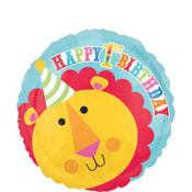 Foil Fisher Price 1st Birthday Balloon 18in