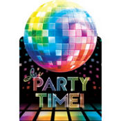 Disco Fever Invitations 8ct