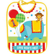 1st Birthday Fisher-Price Circus Bib