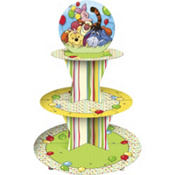 Pooh and Pals Cupcake Stand Holds 24