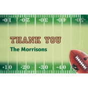 NFL Drive Custom Thank You Note