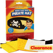 Pirate Hat Craft Kit