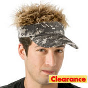 Camo Flair Hair Visor