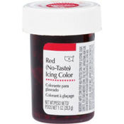 No-Taste Red Icing Color 1oz
