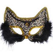 Fancy Leopard Cat Mask