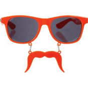 Orange Handlebar Sun-Stache