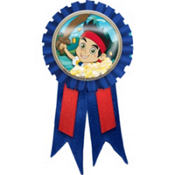 Jake and the Never Land Pirates Award Ribbon