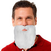 Self-Adhesive Santa Beard