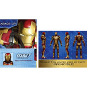 Iron Man Invitations & Thank You Notes for 8