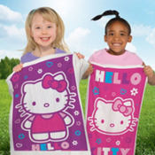 Hello Kitty Potato Sack Race Bags 4ct