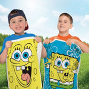 SpongeBob Potato Sack Race Bags 4ct