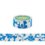 Blue Hibiscus Duckling Tape
